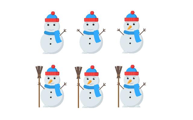 картинка с ответом к задаче про снеговика