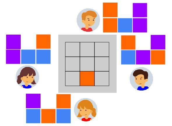 задача на построение фигуры из кубиков