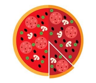 задача про пиццу