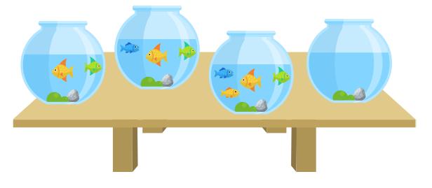 задача с рыбками