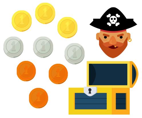 картинка к задаче про пирата