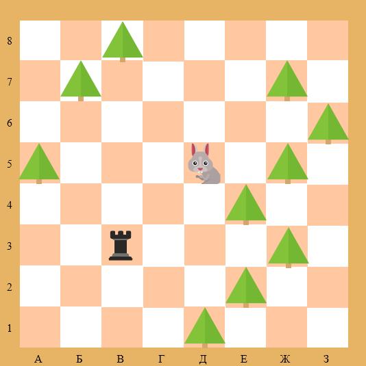 простая шахматная задача с ладьей