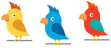 изображение к задаче про попугаев