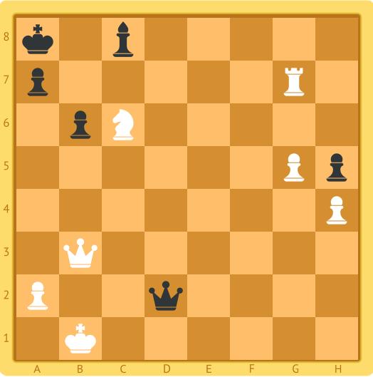 шахматная задача на мат в один ход