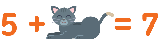 5 + котенок = 7