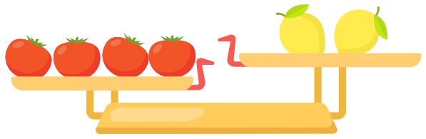 Picture for puzzle about tomato and lemon
