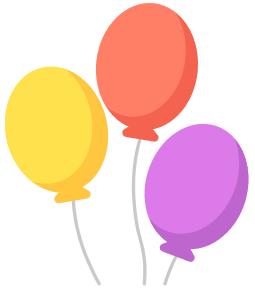 повітряні кулі ілюстрація до задачі