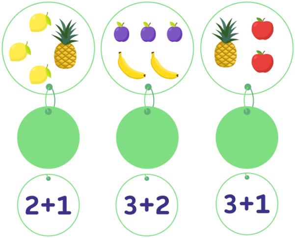 ребус с картинками и цифрами соедини пары