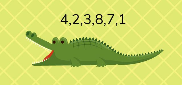 пример ребуса с цифрами про животных